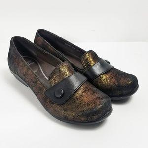 Dansko Olena Loafer Shoes Copper Size 39 (8.5/9)
